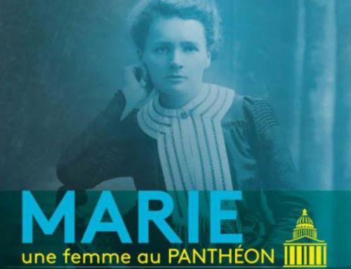 Exposição Marie Curie no Panteão de Paris