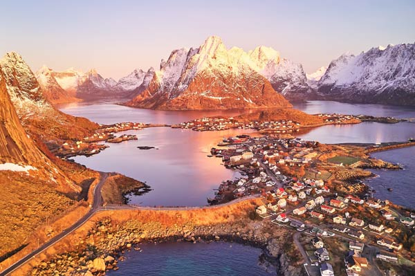 Visita a Noruega depois da Copa do Mundo da FIFA