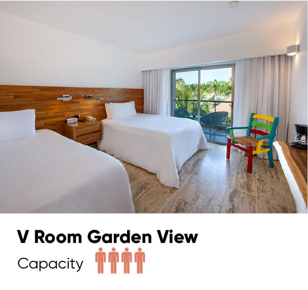 V Room Garden View
